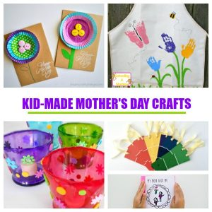 Creative Mother's Day Crafts and Gifts for Kids to Make