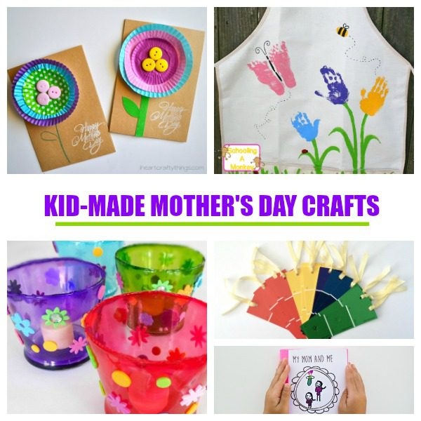Creative Mother S Day Crafts And Gifts For Kids To Make