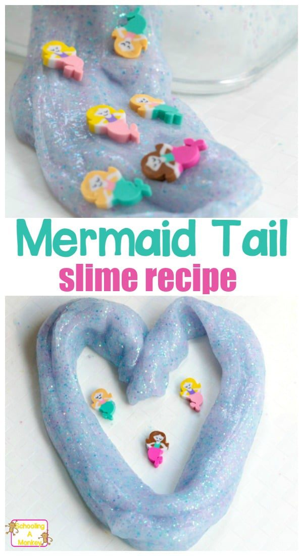 Slime has never been this mythical before! The mermaid tail slime is perfect for mermaid-loving kids.