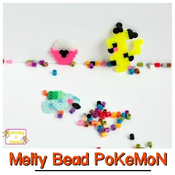 Perler Bead Pokemon Craft: A fun Pokemon activity for kids!