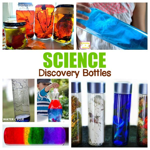 Creative and Educational Science Discovery Bottles