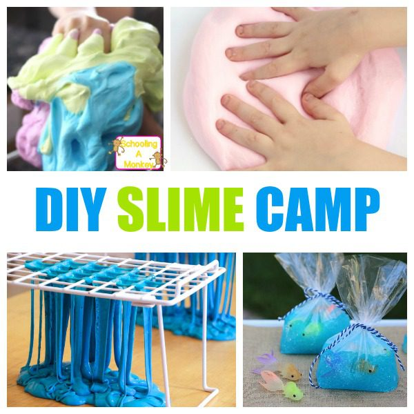Backyard Summer Camp: DIY Slime Summer Camp