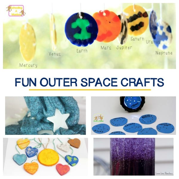 "Creative Outer Space Crafts and Activities That Are a ""Blast!"""