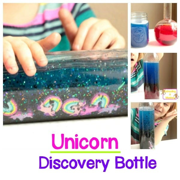 unicorn discovery bottle
