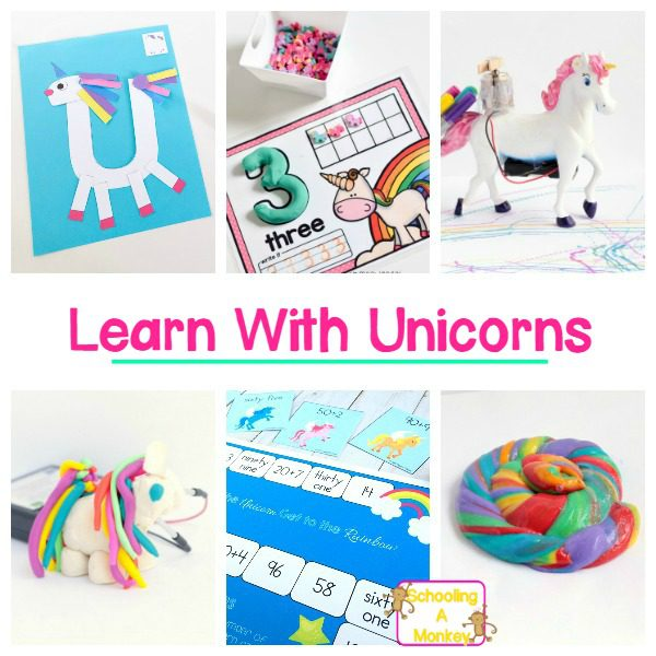 20 Unicorn Activity Ideas- Unicorn Crafts, Printables, and STEM Activities!
