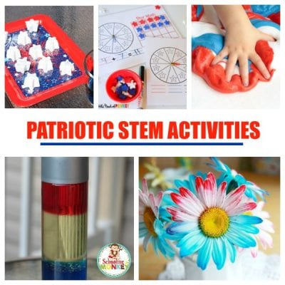 Patriotic STEM Activities for Kids Perfect for Summertime Fun