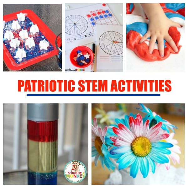 Kids will love these 4th of July STEM activities perfect for summer backyard fun!