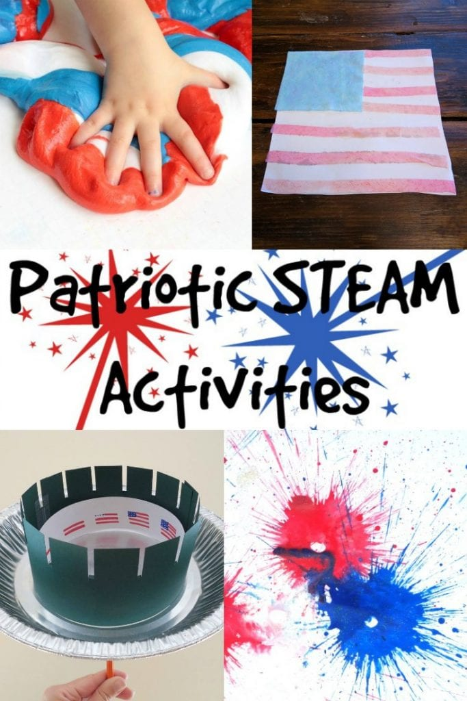 If you love STEM activities, you'll love these patriotic STEM activities for kids! These kids activities are perfect for any patriotic holiday!