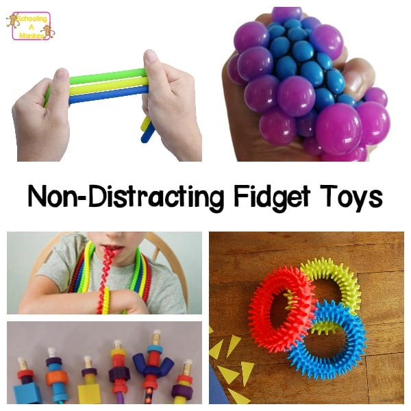 classroom-friendly fidget toys