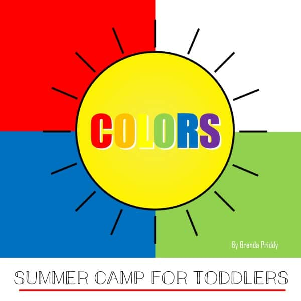 Make summer memories with your little ones by creating an at-home summer camp with a color theme! This summer camp for toddlers is fun for all!