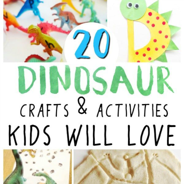 20 Easy and Fun Dinosaur Crafts and Activities Kids Will Love