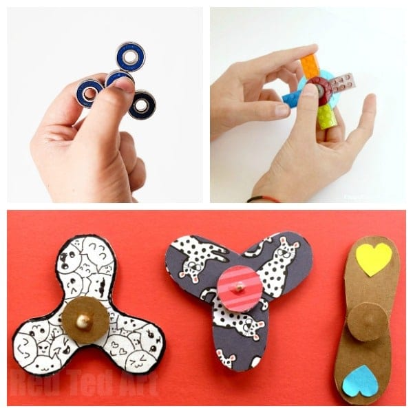 make your own fidget spinner