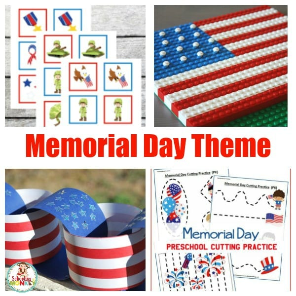 Patriotic Printables And Activities For A Memorial Day Theme