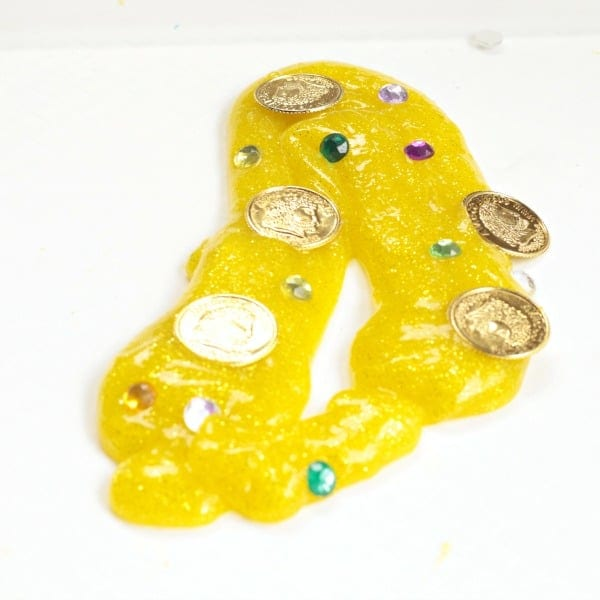 glittery slime