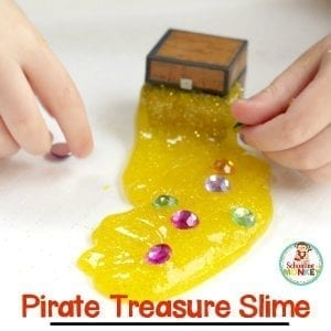 Pirate Treasure Slime Perfect for Little Treasure Lovers