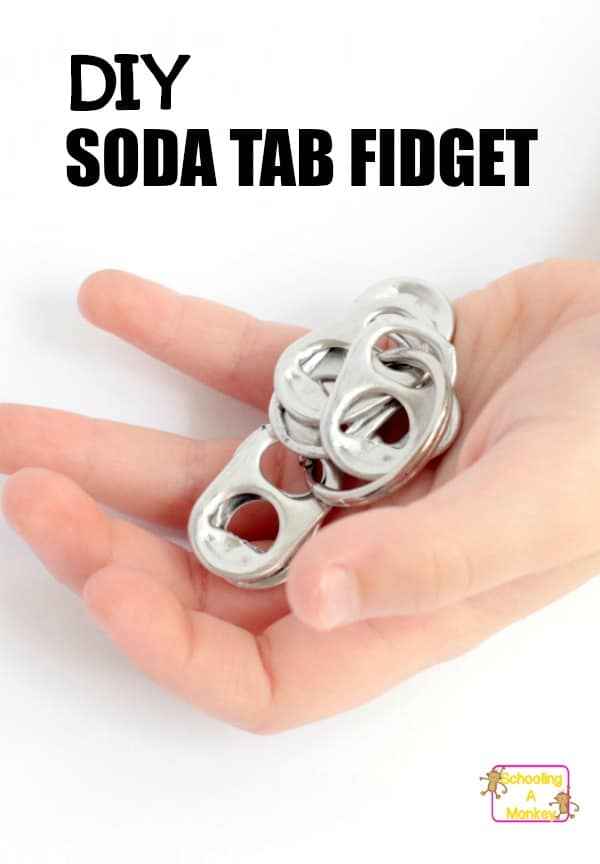 Kid who need to move will love this simple DIY fidget toy. Fidgets for kids are easy to make and help boost concentration in the classroom for kids with ADHD.