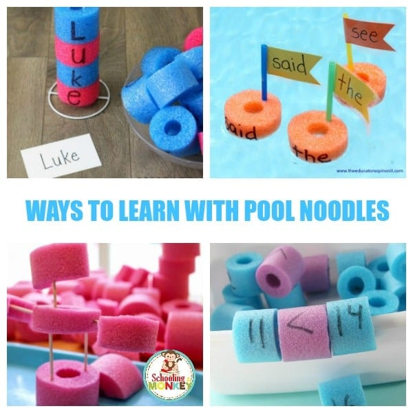 21 Pool Noodle Learning Activities That Kids Will Love!