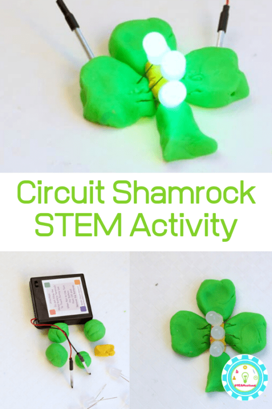Make a Squishy Circuits Shamrock