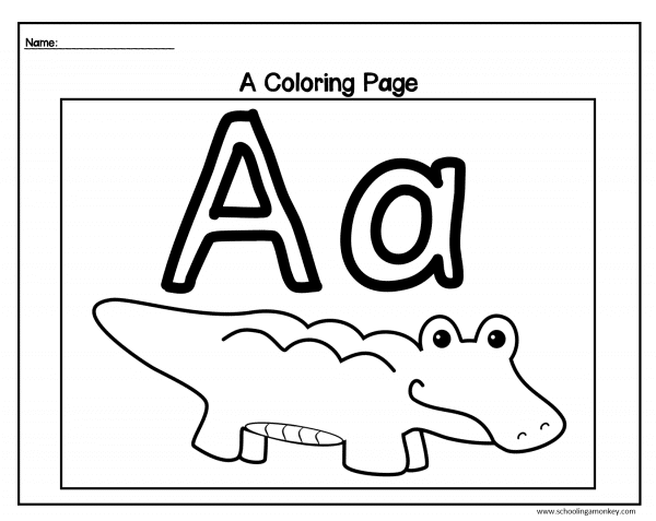 The alphabet activity bundle gives kids the tools they need to learn their letters! Teachers will love these no-prep alphabet activity pages!