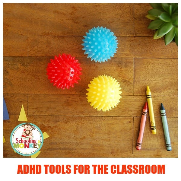 Kids will ADHD need to fidget and move. Make their school experience easier with these essential ADHD tools for the classroom. Hands on learning fun!
