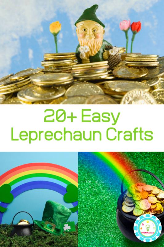 easy leprechaun craft