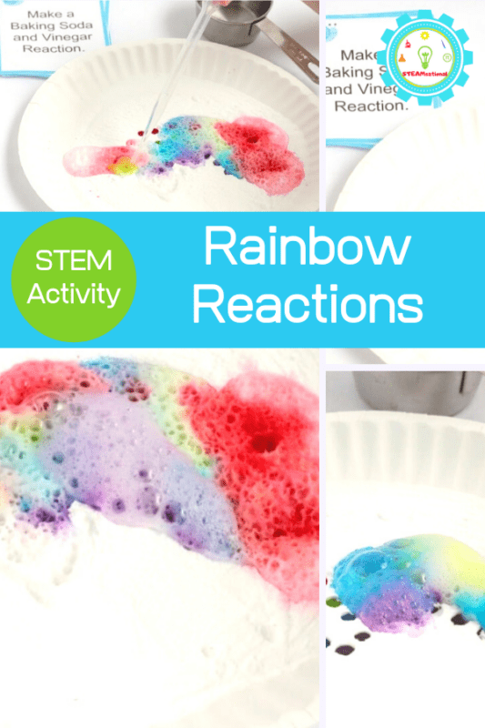 fizzing rainbow science experiment
