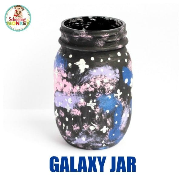 Follow along with these directions to learn how to make your own galaxy jar experiment. It's a fun space-themed STEAM activity that most kids will have a blast making!