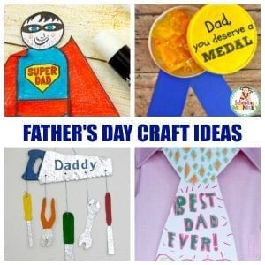 Creative Father's Day Crafts Kids Can Make for Dad