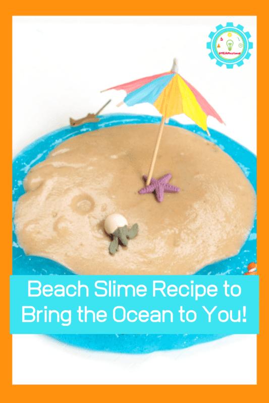 how to make beach slime