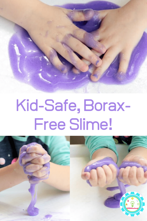 how to make slime with baking soda and glue