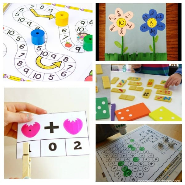 Keeping math skills boosted in the summer doesn't have to be boring! Use these ideas to make your own DIY math summer camp at home!