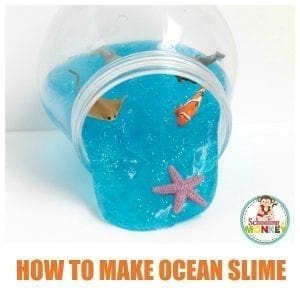 Sparkling Ocean Slime Recipe Kids Will Love