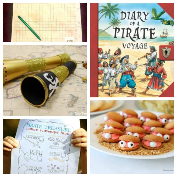 Build your own pirate summer camp right at home! These fun pirate activities will make a magical backyard summer camp and screen free fun for kids!