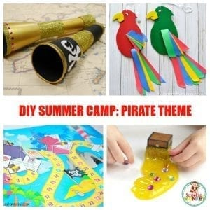Make Your Own Seaworthy Pirate Summer Camp at Home!