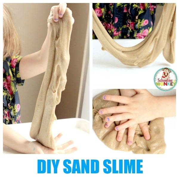 How to Make Sand Slime out of Real Beach Sand!