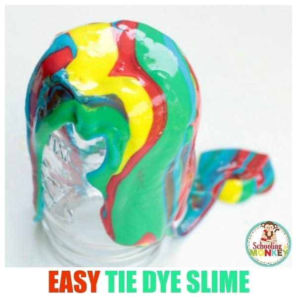 Bright, Stretchy, and Absolutely Amazing Tie Dye Slime