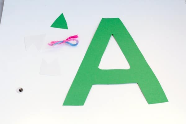 Make learning the letter A so much more fun with this hands-on A is for alligator letter craft! Kids will love putting together this simple alphabet craft.