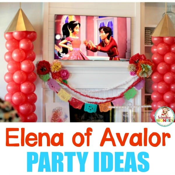 Little kids will have a blast with this Elena of Avalor party with tons of hands-on party activities that preschoolers will love!