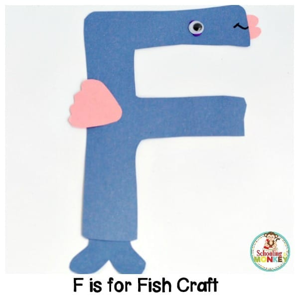 F is for Fish Letter Craft