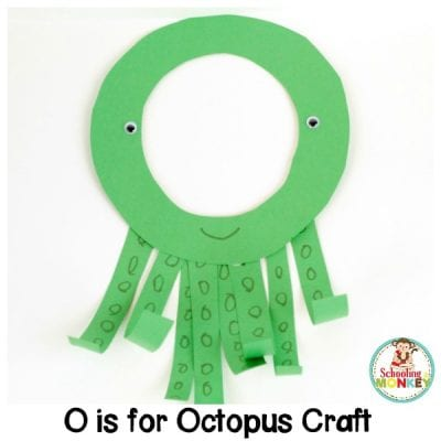 O is for Octopus Letter Craft