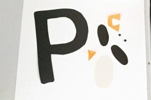 P is for Penguin Letter Craft