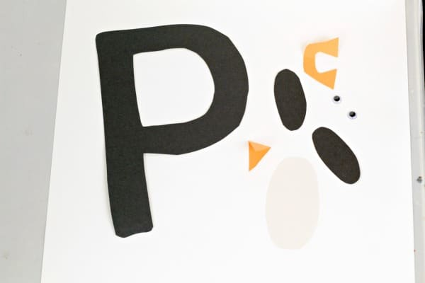 Alphabet crafts are a fun way to introduce letters to preschoolers and kindergarten kids. This P is for penguin letter craft is the perfect intro to Ps.