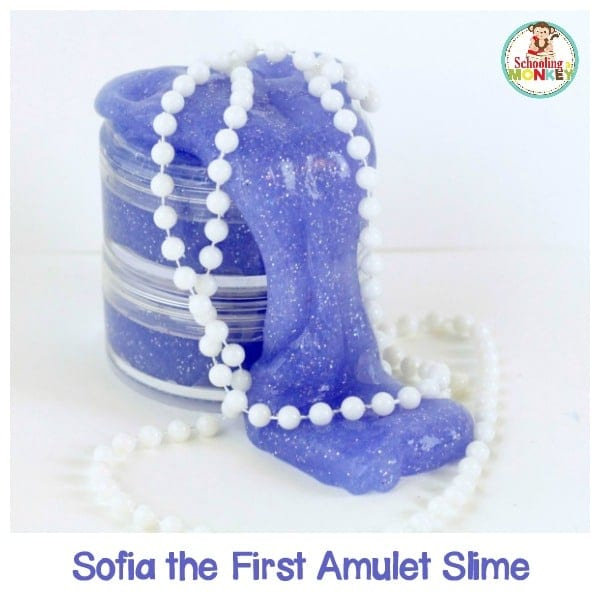Sparkly, Pretty, Sofia the First Slime Fit for a Princess