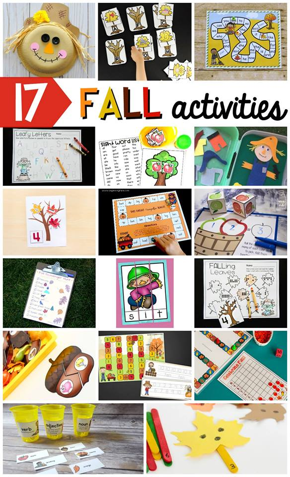 educational fall activities for kids