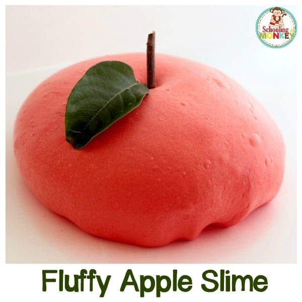 How to Make Fluffy Apple Slime That Will Bring the Scents of Fall Indoors