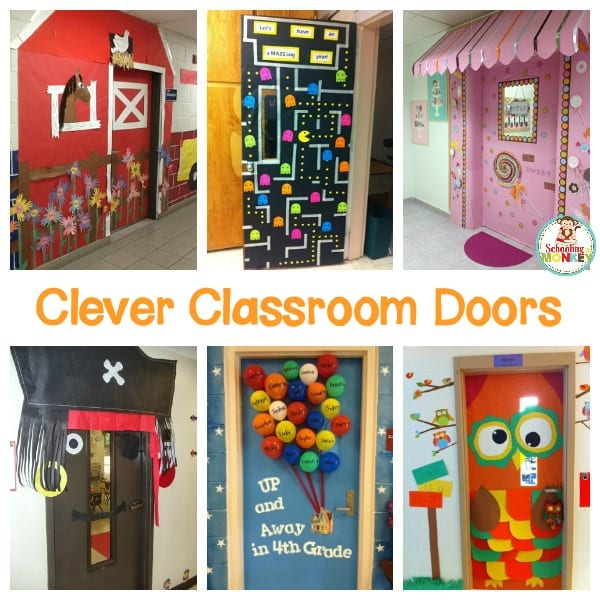 15 Amazing Classroom Door Ideas that Will Make Your Students Smile