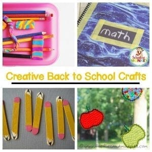 Can't Miss Back to School Crafts That Will Delight Your Kids