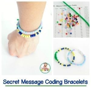 Words of Affirmation Secret Message Coding Bracelets