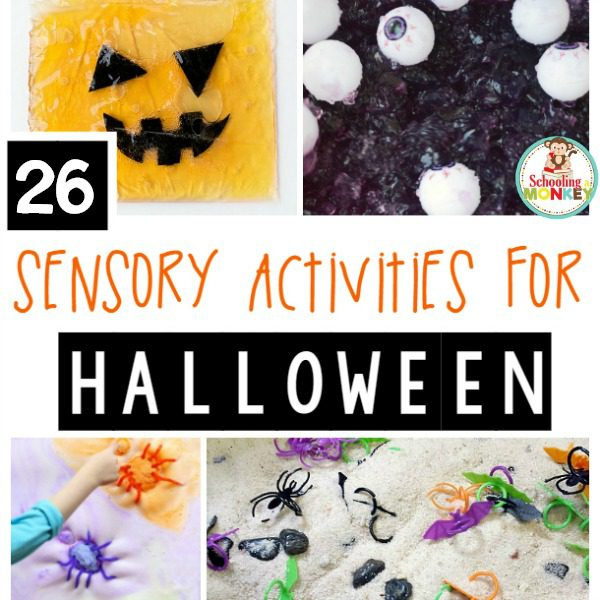 26 Halloween Sensory Activities that will Delight, Not Fright