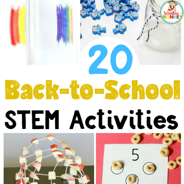 25 Spectacular Back to School STEM Activities for Kids